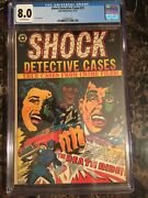 Shock Detective Cases 21 8.0 Ow L.b. Cole Pch Skull Cover 3rd Highest/unpressed