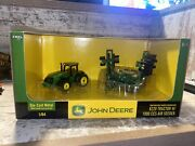 1/64th Scale John Deere 8220 Tractor With 1990 Ccs Air Seeder Die Cast