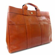 Hermes Razor Fool Toe Mm Tote Bag Unisex Brown Previously Owned No.5776