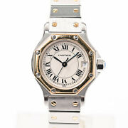 Item Santos Octagon Womenand039s Watches White Women And039s Previously No.5429