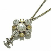 Necklace Metal Material Rhinestone Silver Clear Light Brown Coco No.6998