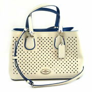 Coach Small Kit Carryall Ivory Women's Shoulder Bag Previously No.2810