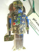 Girl Scout Ornament Girl Nutcracker Cookies 100 Yr Cookie Mom Ldr Scout Gift New