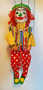 Vintage Mexican Folk Art Marionette Puppet With New Wardrobe