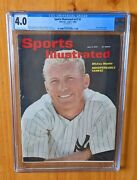 Sports Illustrated 1962 Mantle Newsstand Fc Cgc 4.0 This Is A Tough One