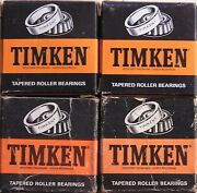 1934-35 Lasalle Steering Gear Upper And Lower Timken Roller Bearings Qty 2 Sets
