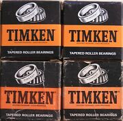 1933 Packard Steering Gear Upper And Lower Tapered Roller Bearing Timken Qty 2