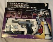 Hasbro Transformers G1 Megatron Complete With Stickers And Instructions.