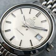 Omega Seamaster Ss Mens Genuine Breather From Japan Fedex No.3870