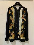 Hermes Silk Knit Cardigan Scarf 38 From Japan No.7153