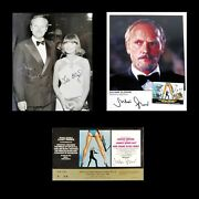 James Bond Julian Gloverand039s Personal Premiere Ticket Prop Officially By Him