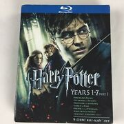 Harry Potter Years 1 To 7 Part 1 Blu-ray Disc 2011 9 Disc Set