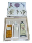 Crabtree And Evelyn Summerhill Body, Hand Lotion Shower Gel New In Box Summer Hill