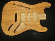 2-1246 Fits Stratocaster Body, Us Made, Unfinished, Thinline, Ash