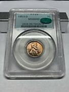 1953-d Pcgs Ms66rd Cac Ogh Wheat Cent Pq Possible 67rd Upgrade