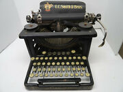 Lc Smith And Bros Antique Typewriter | No 8 Original Vintage Works And Functional