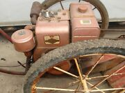 Vintage Briggs And Stratton Early Aluminum Horizontal 6hp Go Kart Gas Engine