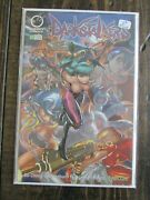 Udon Capcom 2004 Darkstalkers Comic Book Issue 2 2nd Print 2d Variant Cover