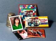 Dollhouse Miniature 112 Scale Partridge Family Game And David Cassidy Set Albums