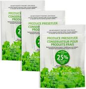 W10346771a Refrigerator Fresh Flow Produce Preserver 3 Replacements-6packs