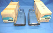 Pair Of Nos Gm 1969-72 Chevy Chevelle Exhaust Tips