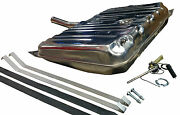 70-72 Olds 442 Stainless-steel Gas Tank Kit - 3/8 Sending Unit - Strap And Pad