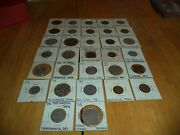 32 Us Trade Tokens All Different