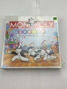 Vintage Parker Brother Boardgame Monopoly Junior 90andrsquos Edition New Sealed