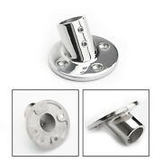 Boat Hand Rail Fittings 60 Degree 7/8 Pipe Round Base 316 Grade Stainless Steel