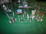 Sam Adams Coors Labatts Beer Glasses Price Lowered, Must Sell