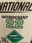 Two ----r-22 Refrigerant 30 Lb. National ---local Pick Only