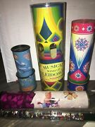 Kaleidoscopes Musical Wind Up Kaleidoscope Collectibles Rare Oil Prism Wand