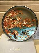 Noritake Studio Collection Autumn Leaves Picture Plate Decorative Dish Point
