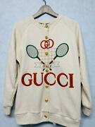 Logo Embroidery Oversized Sweat Cardigan From Japan Fedex No.1061