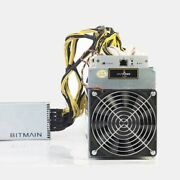 Bitmain Antminer L3+ 504mh/s Miner Ltc Dodgecoin With Power Supply