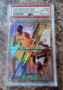 1997 Bowmanand039s Best Mirror Image Refractor M14 Kobe Bryant Pippen Psa 8 Lakers