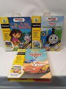 Lot Of 3 Leap Frog My First Leap Pad - Disney Cars - Thomas And Friends And Dora