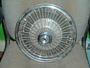 Corvair 2nd-wire Wheel Cover Round Center 13 67-69 Price Reduced