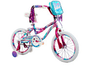 Dynacraft 18 Girls Sweetheart Bike With Dipped Paint Effect Pink/blue Dm