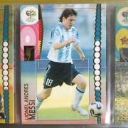 2006 Panini Fifa World Cup Lionel Messi 47 Soccer Card Good Condition