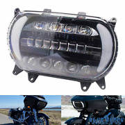 Led Drl Headlight Projector Turn Signal Light For Harley Road Glide Fltrx 15-20
