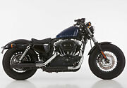 Falcon Double Groove Andeacutechappement Harley Davidson Sportster Xl 1200v Seventy Two