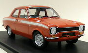 Cult 1/18 Ford Escort Mk1 Mexico 1973 Red Resin Scale Model Car