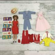 Skipper / Barbie Vintage Doll And Clothes And Catalog Set 7