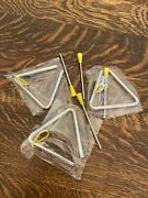 Chimes Chuck Wagon Steel 8 Small Dinner Bell Lot Of 3