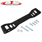 Black Jdm Chassis Subframe Brace Bar For 2002-2005 Civic Si Ep3 / -06 Rsx Dc5