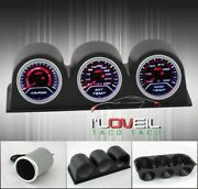Air Fuel Gauge + Exhaust Gas + Water Temperature + Triple Pod Holders Combo Kit