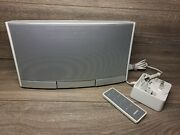Bose Sounddock Portable Digital System W/ Charger Remote And Case Free Shipping