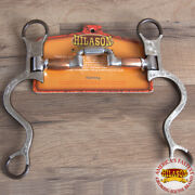 Hilason Antique Brown Show Horse Bit Stainless Steel Correction Mouth U--756