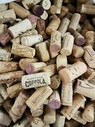 100+ Used Wine Corks- Recycled-used. Great Crafting Projects.